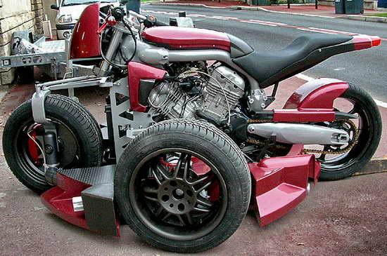 K pteron quad moto o autoscontro geeketto for Moto regalasi