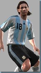 Messi PR render