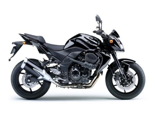 Kawasaki Z750 2008 - Metallic Diablo Black