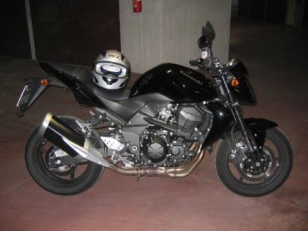 La mia Kawasaki Z750