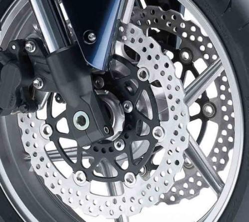 Kawasaki Z750 - dischi freno anteriore a margherita